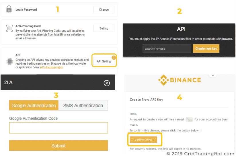 How to get Binance's API Key
